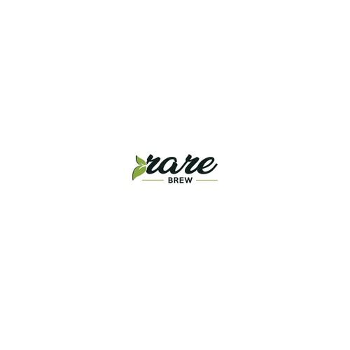 rare brew logo concept