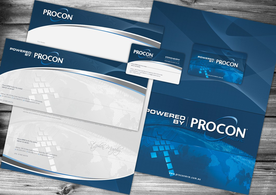 Quick Letterhead, Envelope and Business Card (Logos supplied)