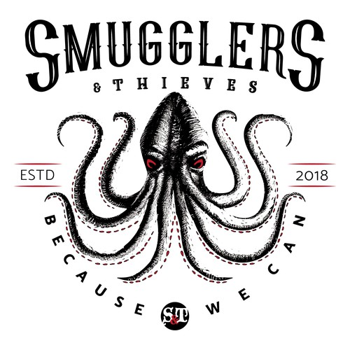 """Smugglers and Thieves """"Because we can"""" clothing line"""