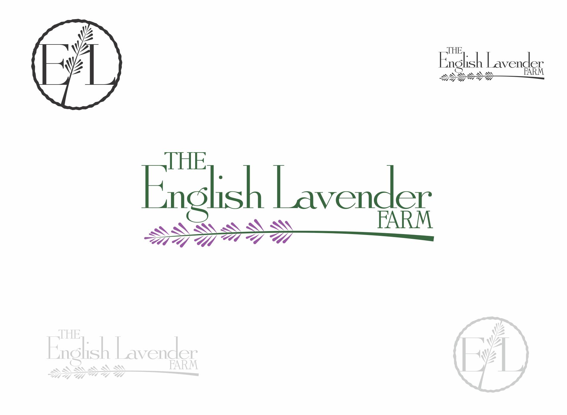 logo for The English Lavender Farm