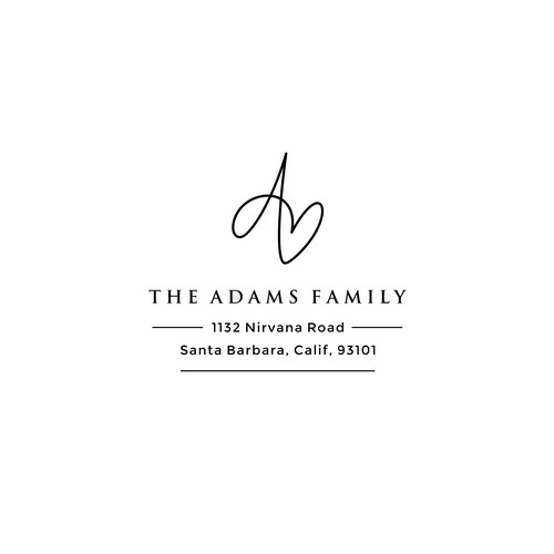 Logo design for The Adams Family
