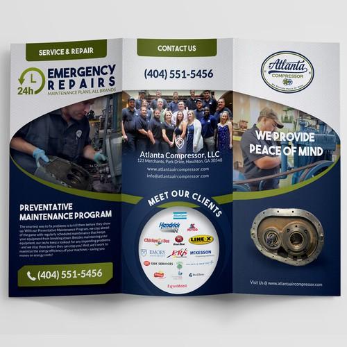 Atlanta Brochure design