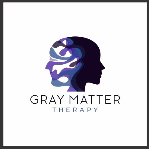 Abstract logo for Grey Matter Therapy