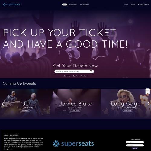 Superseats website