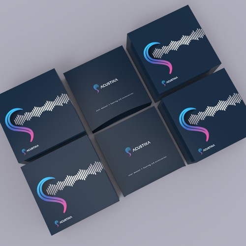 Packaging for Acustika Hearing Aid