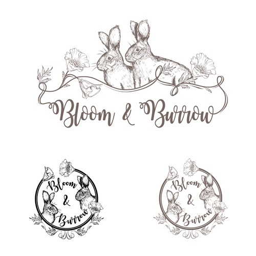 Logo for my modern antique business