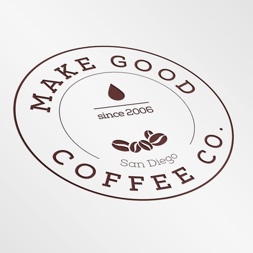 Logo for new San Diego coffee roastery