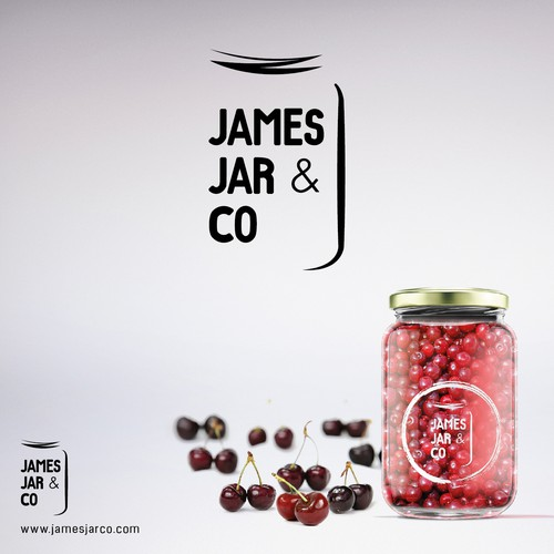 Logo concept for Food & Drink in a Jar