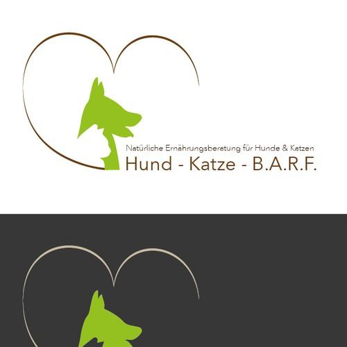 Logokonzept für Hunde-/Katzen-Barf Ernährungsberatung