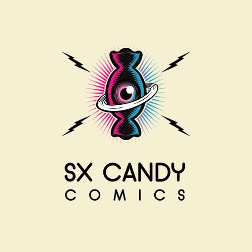 SX Candy Comics Logo