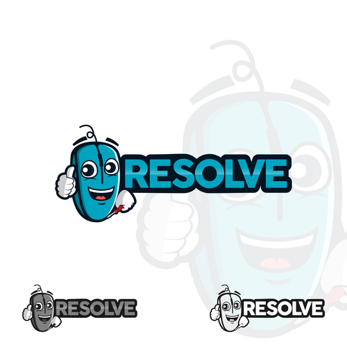 logo concept for Resolve