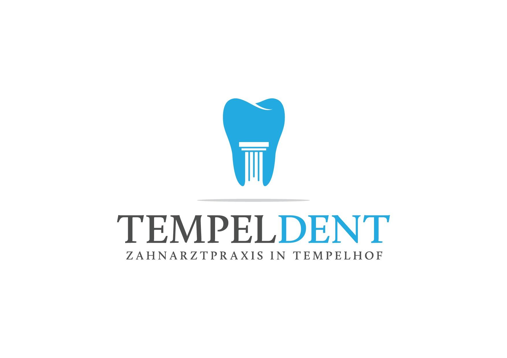 Erstellt ein Logo für eine Zahnarztpraxis in Berlin Tempelhof (Name: TempelDent)