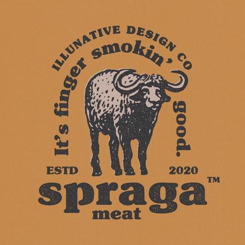 Spraga Meat - Logo Design
