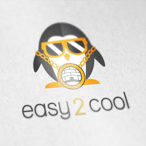 Easy 2 Cool Penguin Mascot