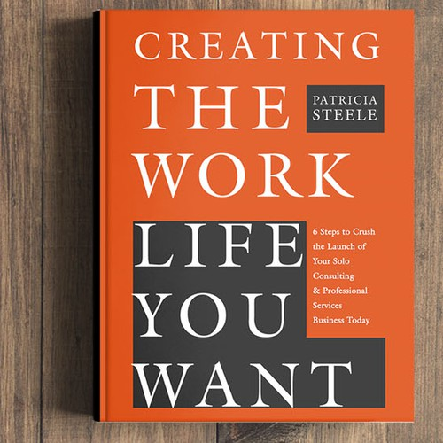 book cover for creating the work