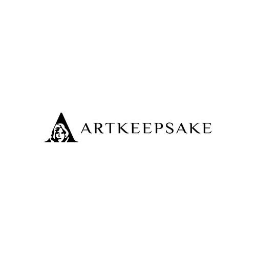 Simple logo for a custom portraits seller
