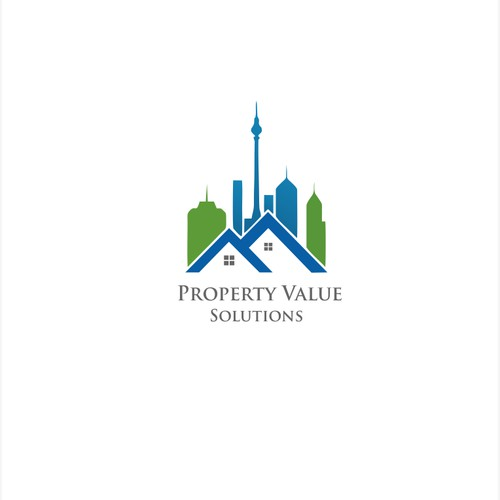 Disrupt the real estate industry with a professional, trustworthy logo for Property Value Solutions