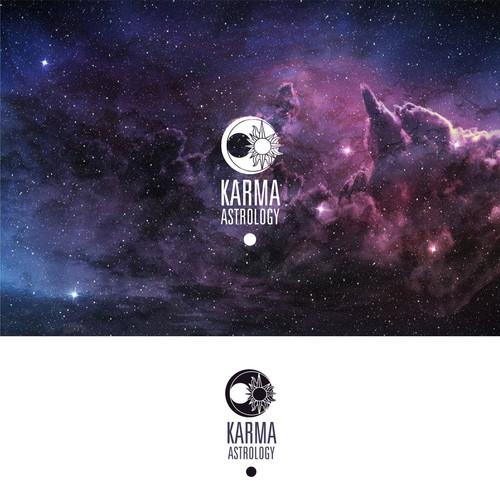 Spiritual Logo for the Karma Astrology