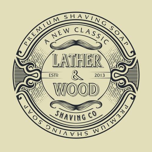 Classic Shaving Company Logo Design
