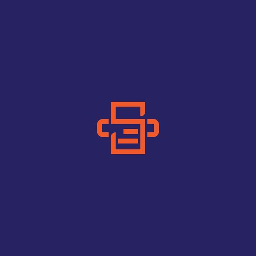 Simple and Clean Logo concept for  Printers and Supplies company