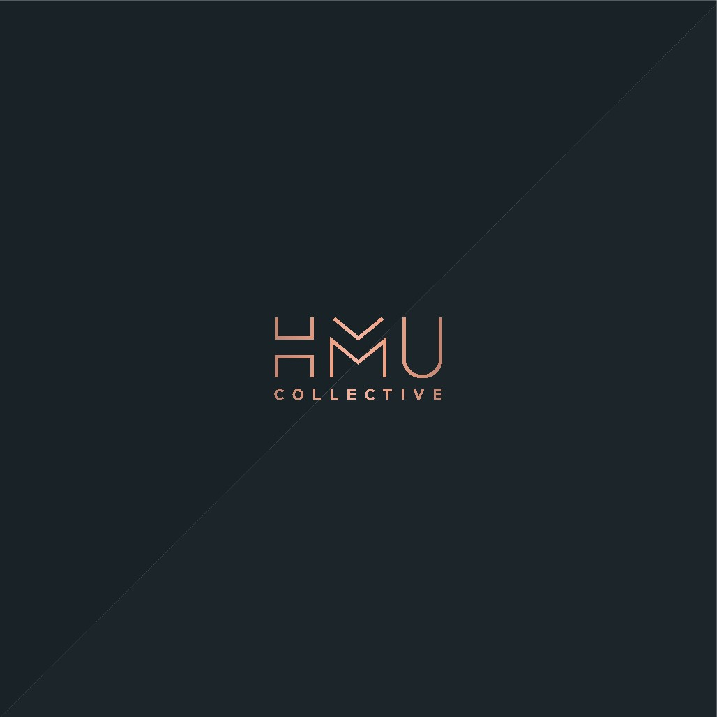 Stylish logo to represent hair and makeup artists booking agency