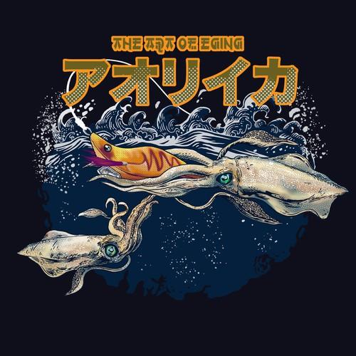 Squid japan style design