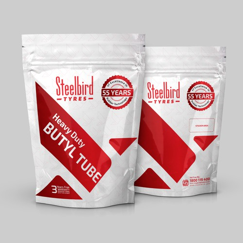 Steelbird Butyl Tube Packaging