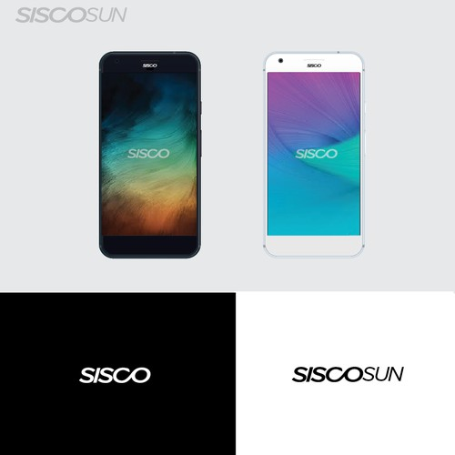 Logo type for new brand smartphone