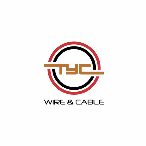 "Professional, clean and recognizable Logo for ""TYC Wire & Cable"""