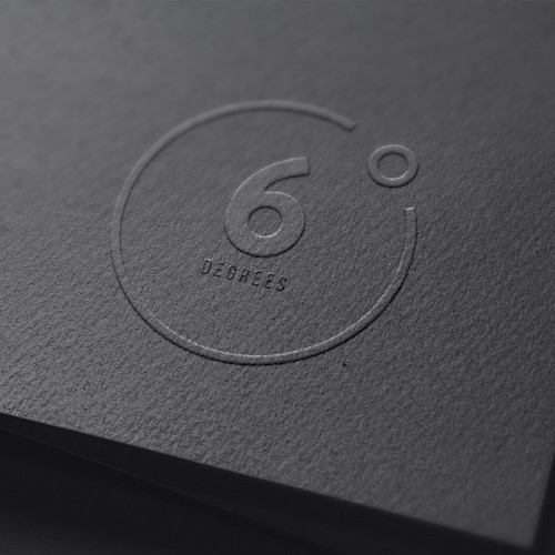 logo for 6 degrees, a luxury travel company