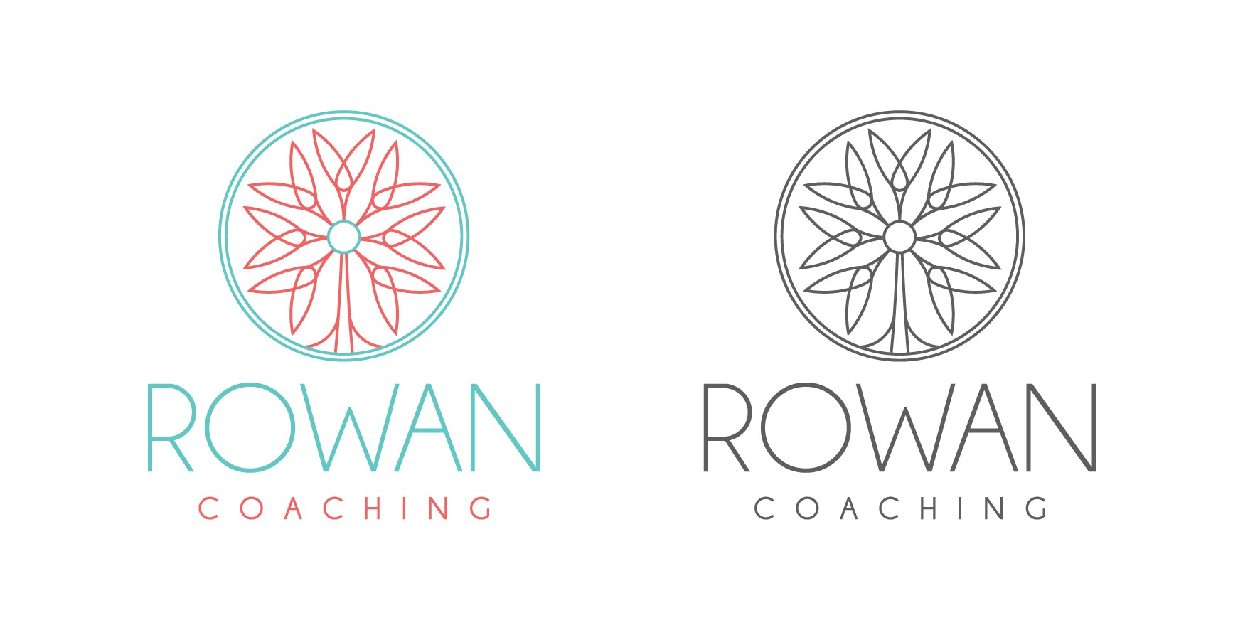 Rowan Coaching speaks to smart, creative humans. I want a logo that does too!