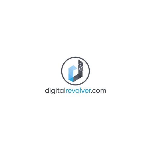 """logo for """"digitalrevolver.com"""""""