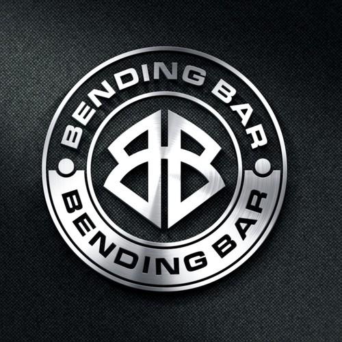 Bending Bar logo design