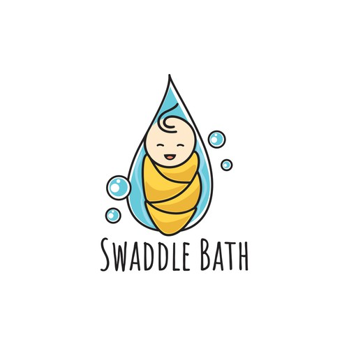 logo for baby bath company
