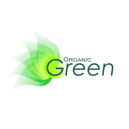 Logo for pure and natural Green Organic Company
