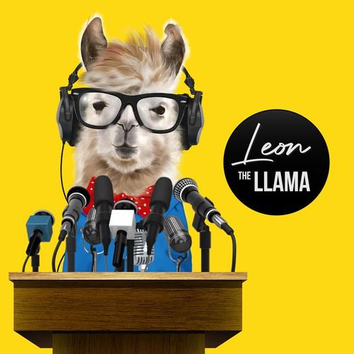 Animal Illustraton (Llama)