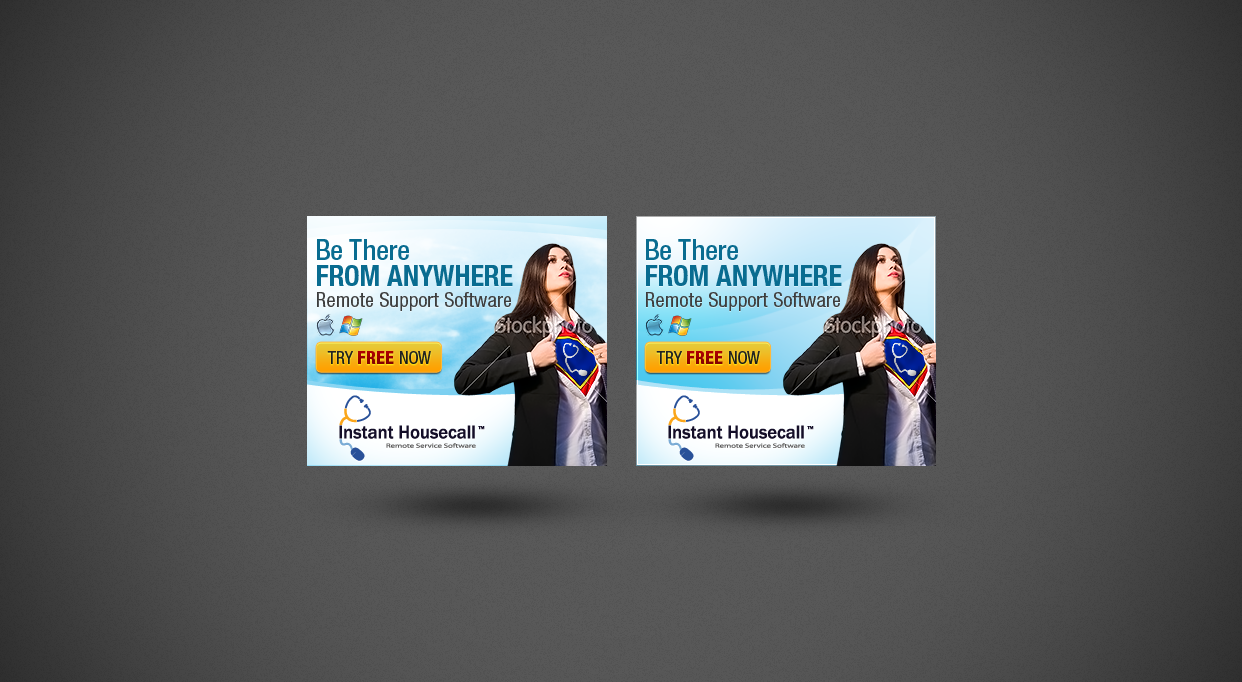 New banner ad wanted for Instant Housecall