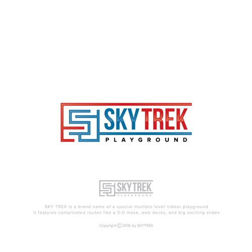 cool logo for SKYTREK