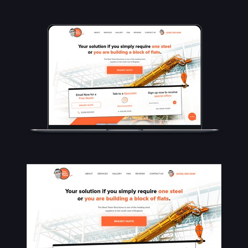Creative concept for Steel Company