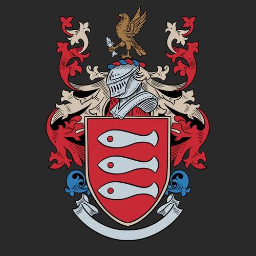 Family Crest Heraldic