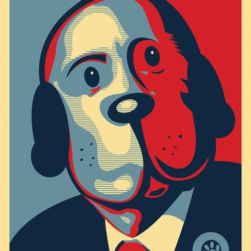 Dog Themed T-shirt Design