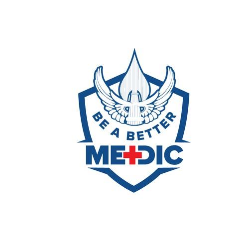 Logo in crest