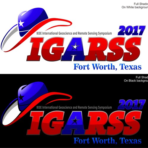 Logo design for IEEE IGARSS 2017 Conference in Fort Worth, Texas