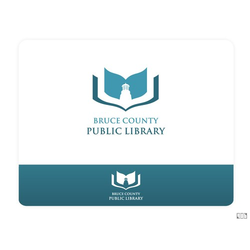 Logo for public library