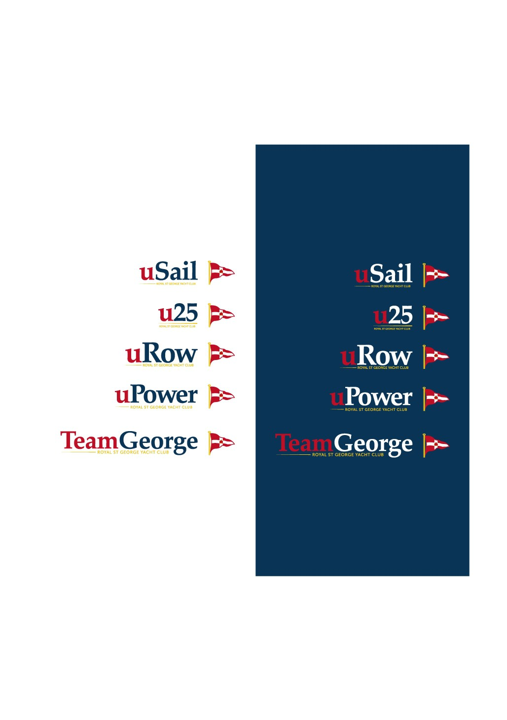 Slogan designs for a family friendly, Irish sailing club