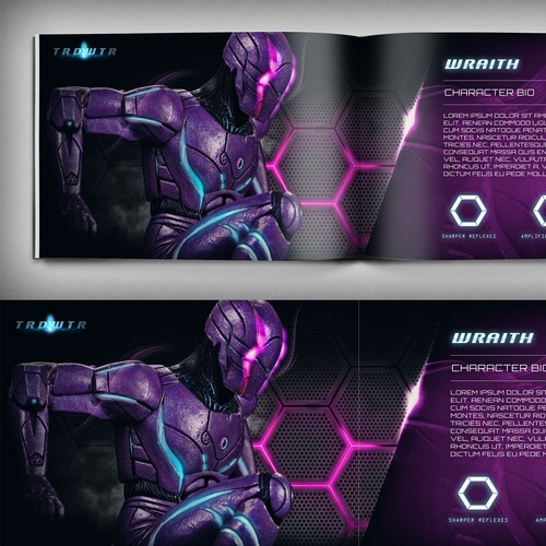 Sci Fi TV Series pitch presentation book (based on the acclaimed Graphic Novel: TRDWTR)
