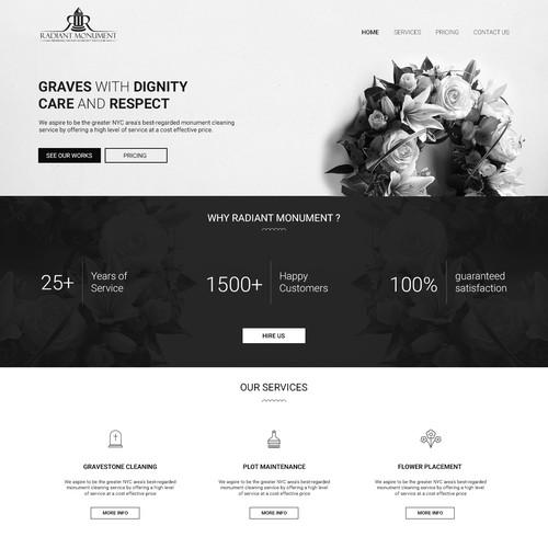 Responsive web layout