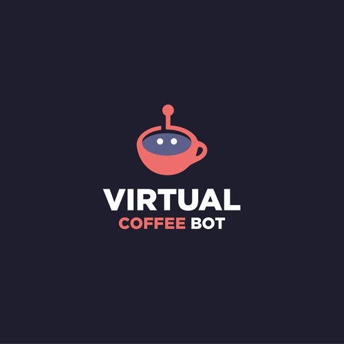 Logodesign for Virtual Coffee Bot