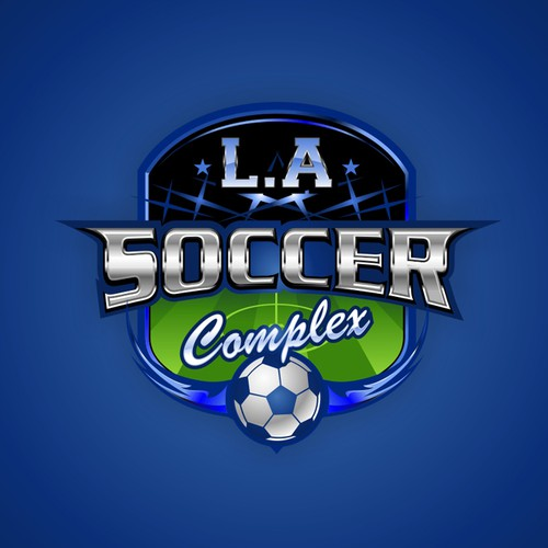 valley soccer center or L.A Soccer Complex Logo Design