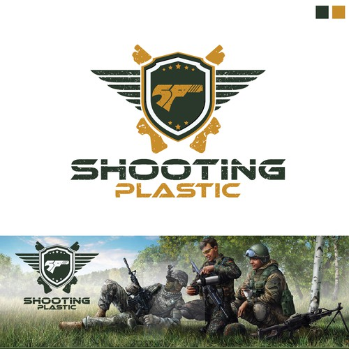 logo for the sport of airsoft